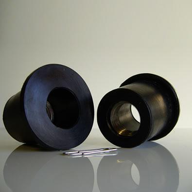 Bouchons spécial avec vis métallique 046